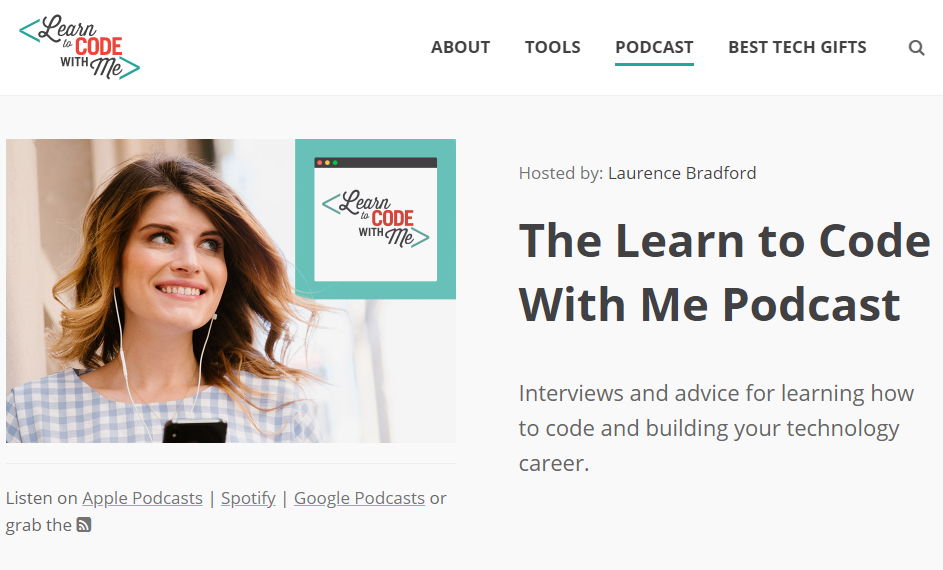 Podcast dành cho việc học code - Learn to Code With Me